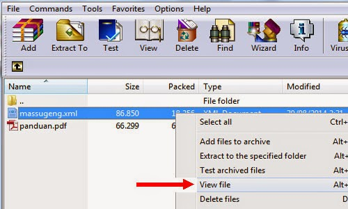 Cara Membuka File Rar Winrar Download Template