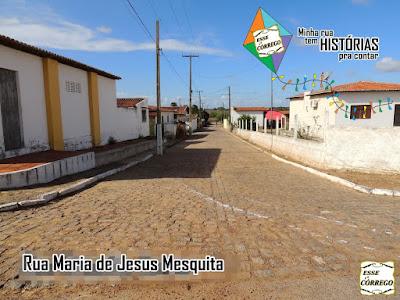 Rua Maria de Jesus Mesquita