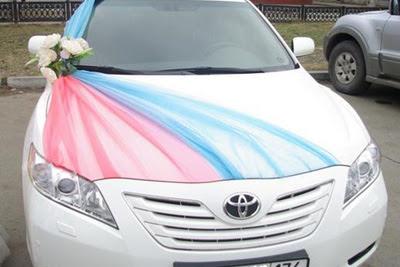 Wdding car decoration 2012 fashion world design - Wedding decorations for car ...