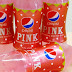 Pepsi Pink, Pepsi yang mempunyai rasa strawberry dan milk