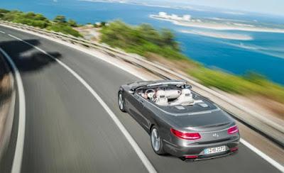 2016 Mercedes Benz S550 Convertible