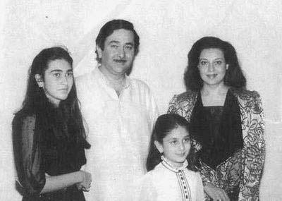 Randhir kapoor's Family