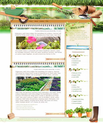 Tomorrow Never Dies blogger template. converted WordPress to Blogger template. template garden for blog