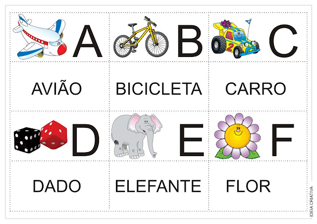 Alfabeto Colorido e Jogo da Memória