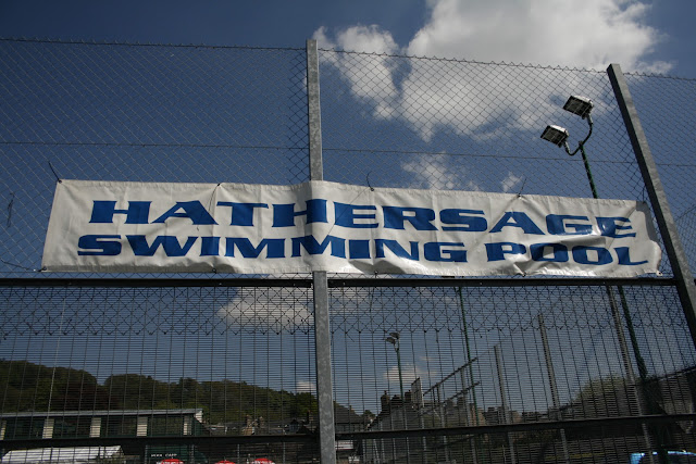 A handful of hope open air swimming in hathersage derbyshire - Hathersage open air swimming pool ...