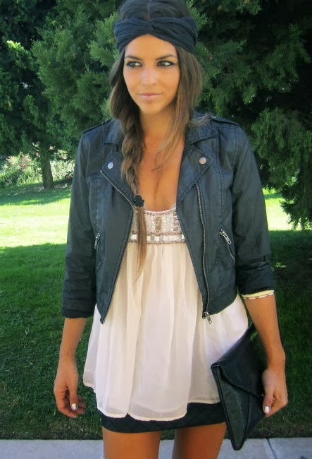 Very Lovely White Blouse, Jacket with Suitable Skirt and Handbag. Absolute Amazing