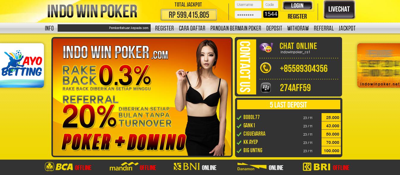 waltpoker situs judi domino poker on-line terpercaya indonesia