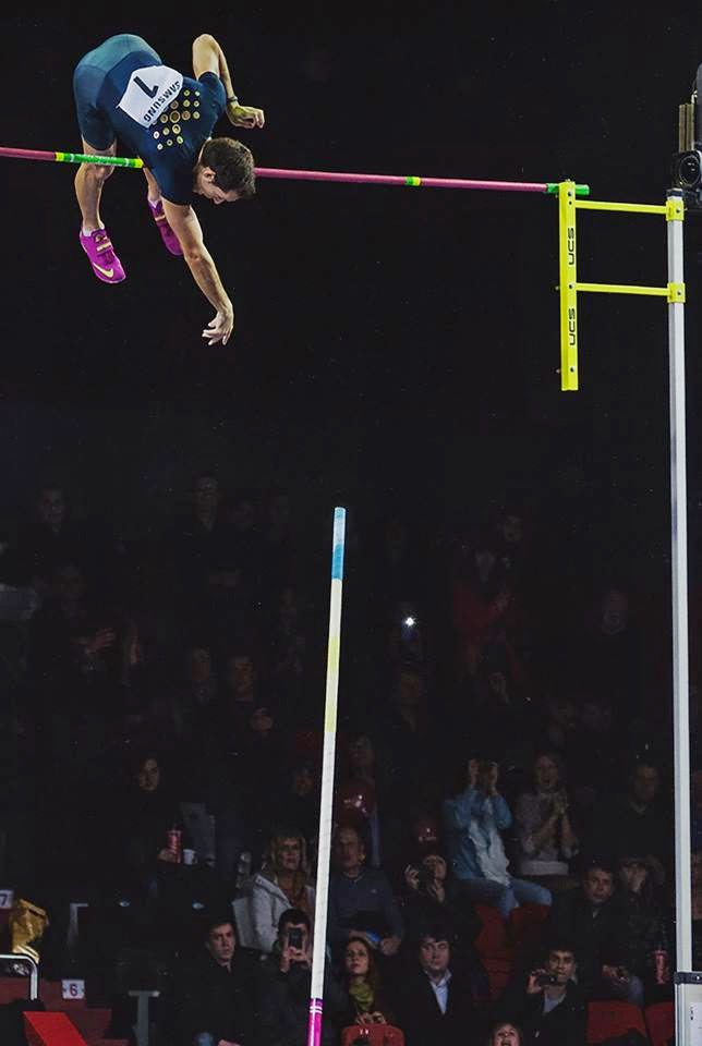 The Physics of Pole Vaulting