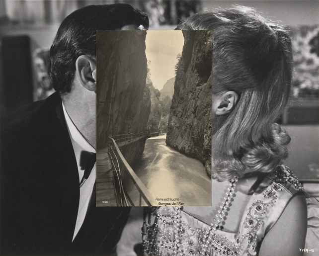 Surreal portraits by photographer John Stezaker