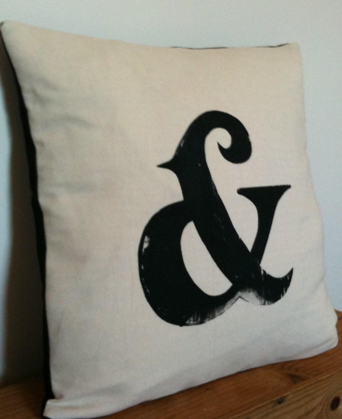 Haus design monogram it for Ampersand decoration etsy