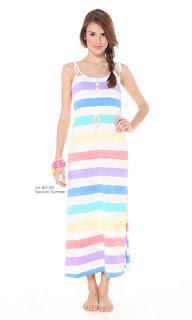 vestido rayado verano 2013