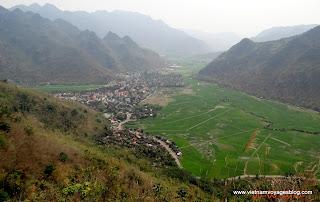 La valée de Mai Chau, un des sites touristiques nouveaux en Asie