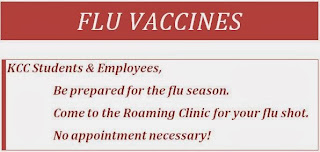 Flu Vaccine invitation - image text repeated in body text