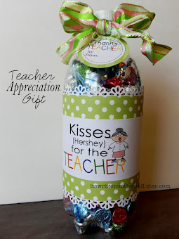 Kisses (Hershey) for Teacher Appreciation Gift