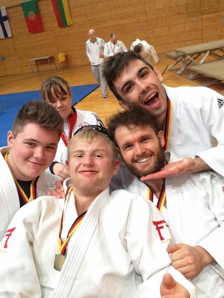 The Great Britain VI Judo Team