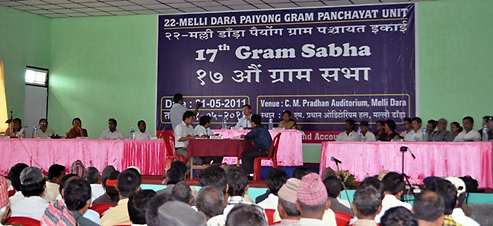 year of gram sabha To illustrate, 87 villages under the korchi maha gram sabha sangathan decided to sell their leaves this year through the gram sabha,.
