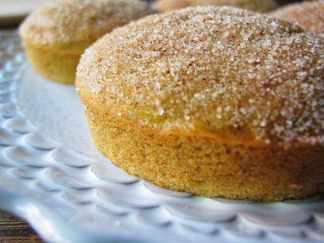 Gluten Free Pumpkin Cider Mini Cakes