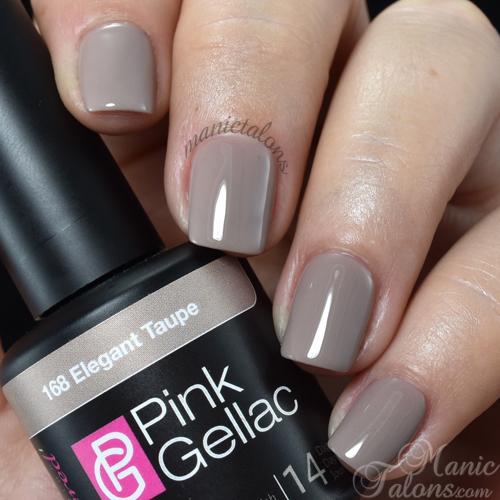 Pink Gellac Elegant Taupe Swatch
