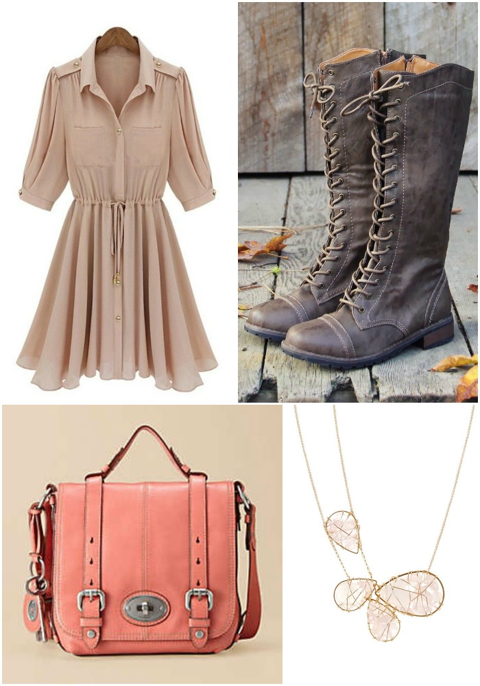 Currently   Shirt Dresses and Fossil Totes