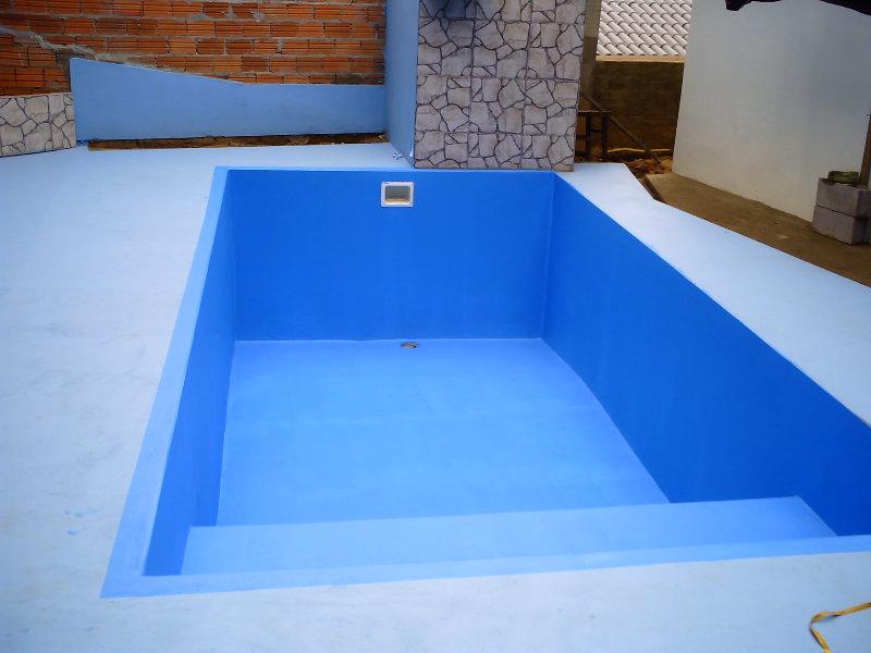 Criativo fa a voce mesmo constru ao de piscina com baixo for Pintado de piscinas