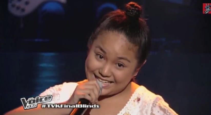 "Rein Carmelite Pineda sings ""Kulasisi"" on 'The Voice Kids' Philippines"