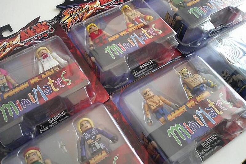 SFxTK Minimates Tekken Street Fighter
