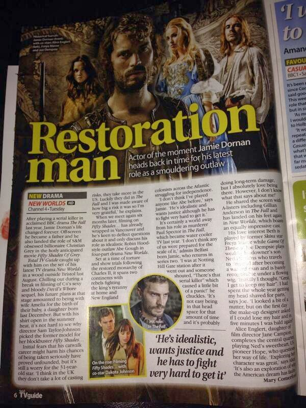 Jamie Dornan en Total TV Guide