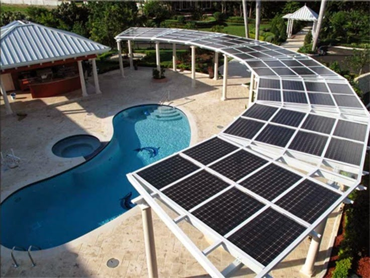 Solar installers the solar swimming pools heating rings interior design for Swimming pool heating system design