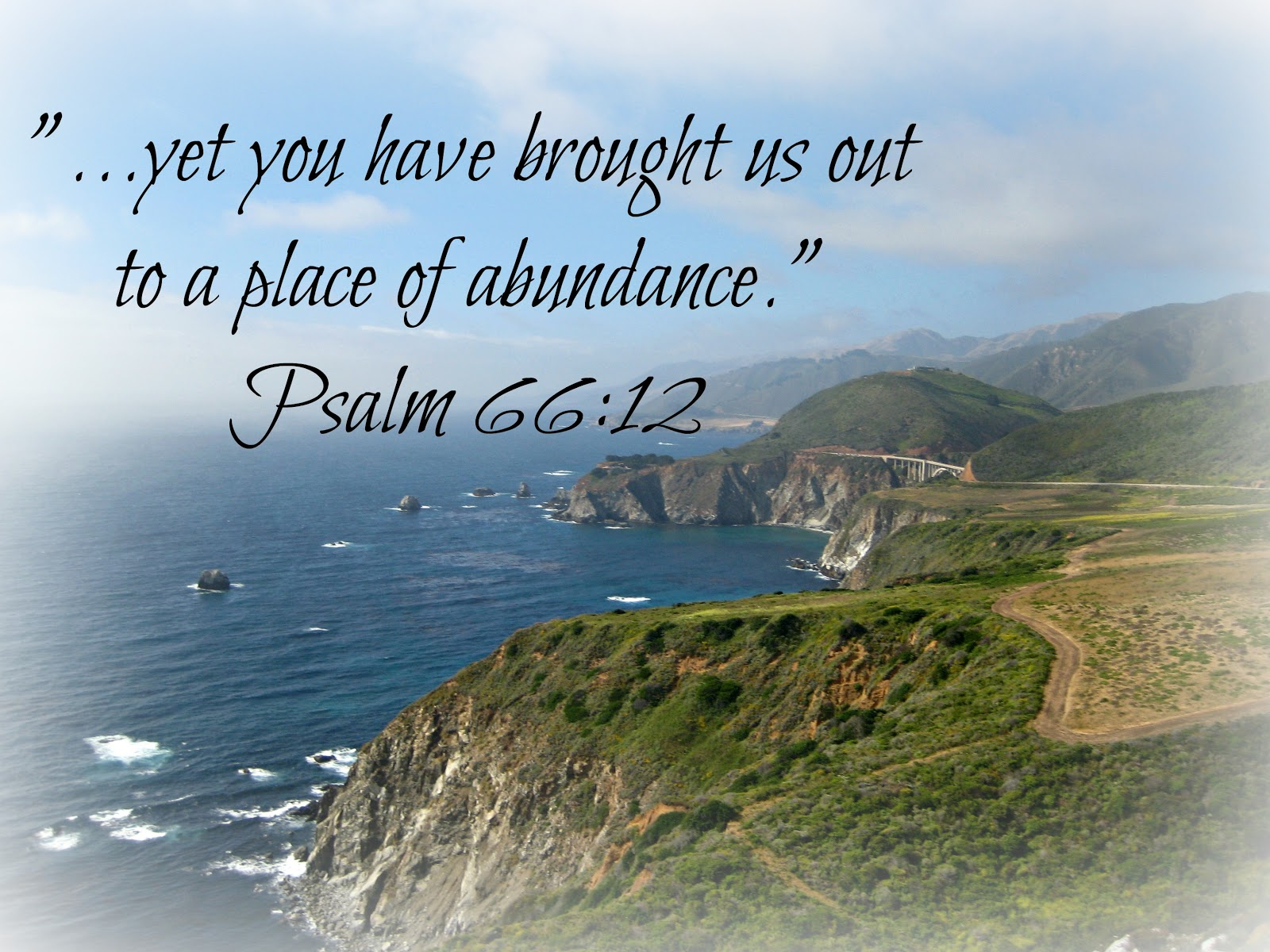 There's a place of abundance for my soul and that place is in resting ...
