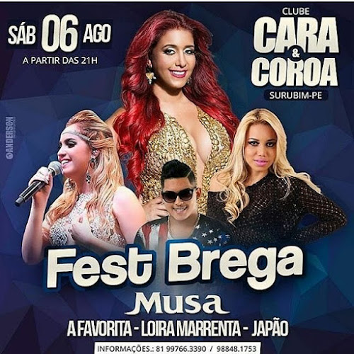 Fest brega 2016 ~ Clube Cara e Coroa - Surubim-PE