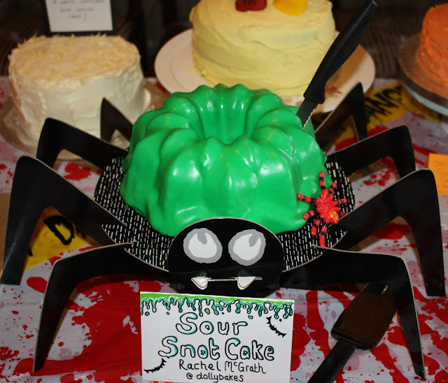 Halloween Sour Snot Bundt