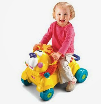 Amazon: Buy Fisher Price Stride-To-Ride Lion at Rs.1200