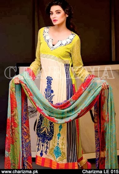 Latest Designs Spring Lawn 2014