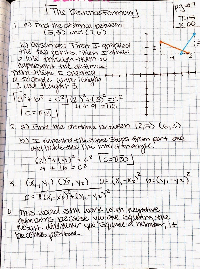 imp 3 pow 1 Pow#3 : around the horn 10/1/2014 when jocelyn our math/physics teacher gave us the pow#3 the first thing i did was to read the problem and talk about it with my partner which really helped me because we both got to have a conversation with each other and try to solve the problem.