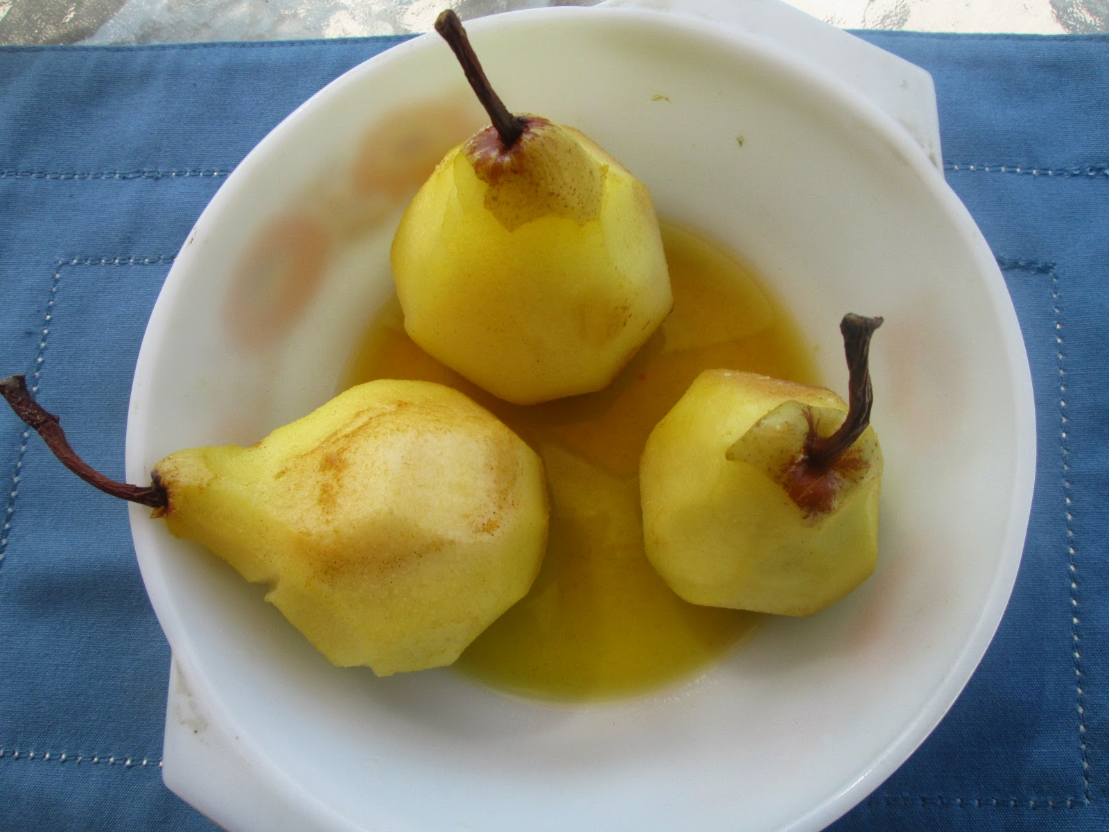 Paleo Comfort Foods' Poached Pears Recipe — Dishmaps