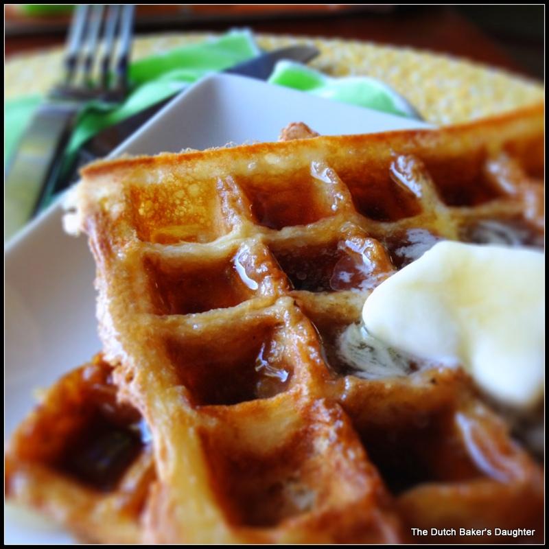Sourdough Waffles