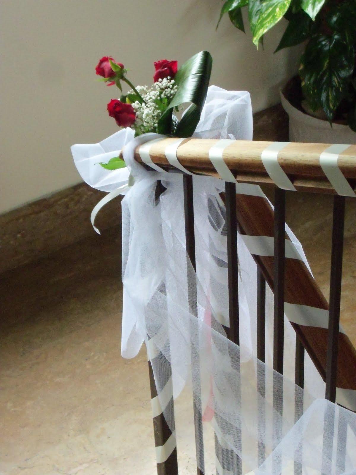 Tulle per addobbi matrimonio at63 regardsdefemmes - Come addobbare la casa della sposa il giorno del matrimonio ...