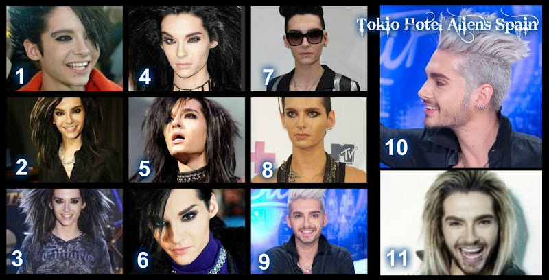 NEW ARTICLE] Bill Kaulitz: His hairstyle evolution! [23.04.2013] title=