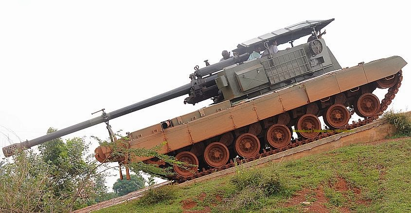 Tarmak007 a bold blog on indian defence drdo to unveil catapult drdo to unveil catapult gun system built on arjun mbt mk i chassis first public display likely at defexpo gsqr trials in may thecheapjerseys Images