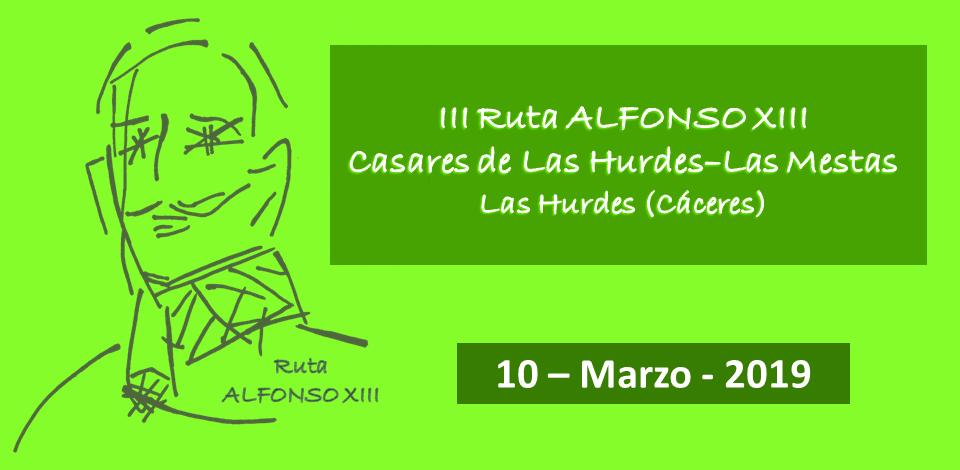 III Ruta Alfonso XIII 10-03-2019