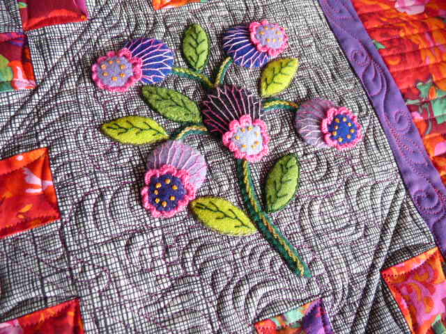 Sewing & Quilt Gallery: Wonderful Wool Applique Quilt : applique for quilts - Adamdwight.com