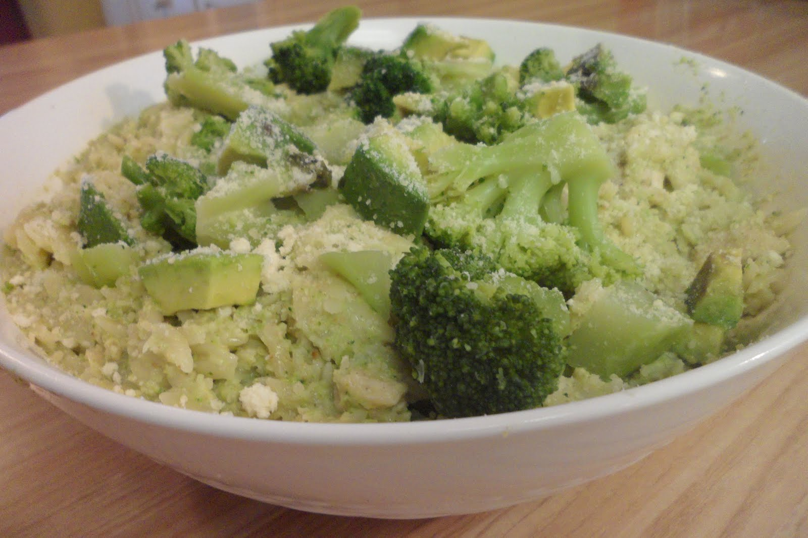 ... : Whole Wheat Orzo with Broccoli-Pine nut Pesto and Chicken