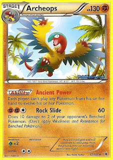 Archeops Pokemon Card Noble Victories Set