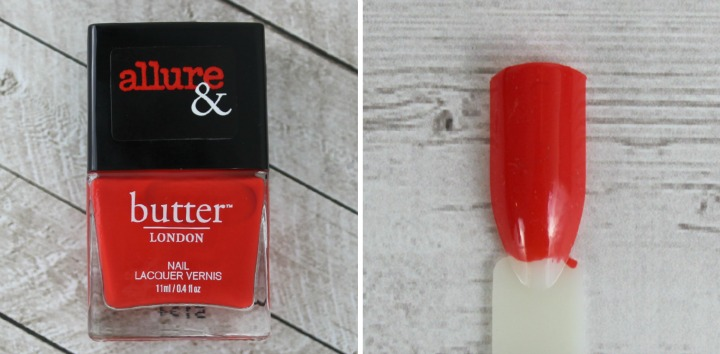 Allure & Butter London Arm Candy Nail Lacquer Collection review swatches STATEMENT PIECE