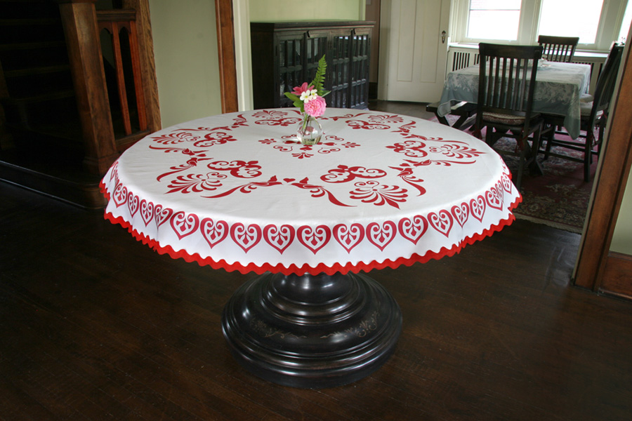 Tablecloth Fabric Design