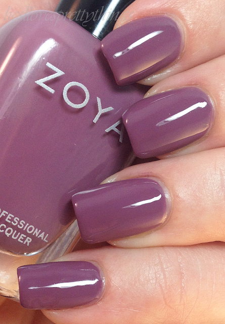 Zoya Odette swatch and review