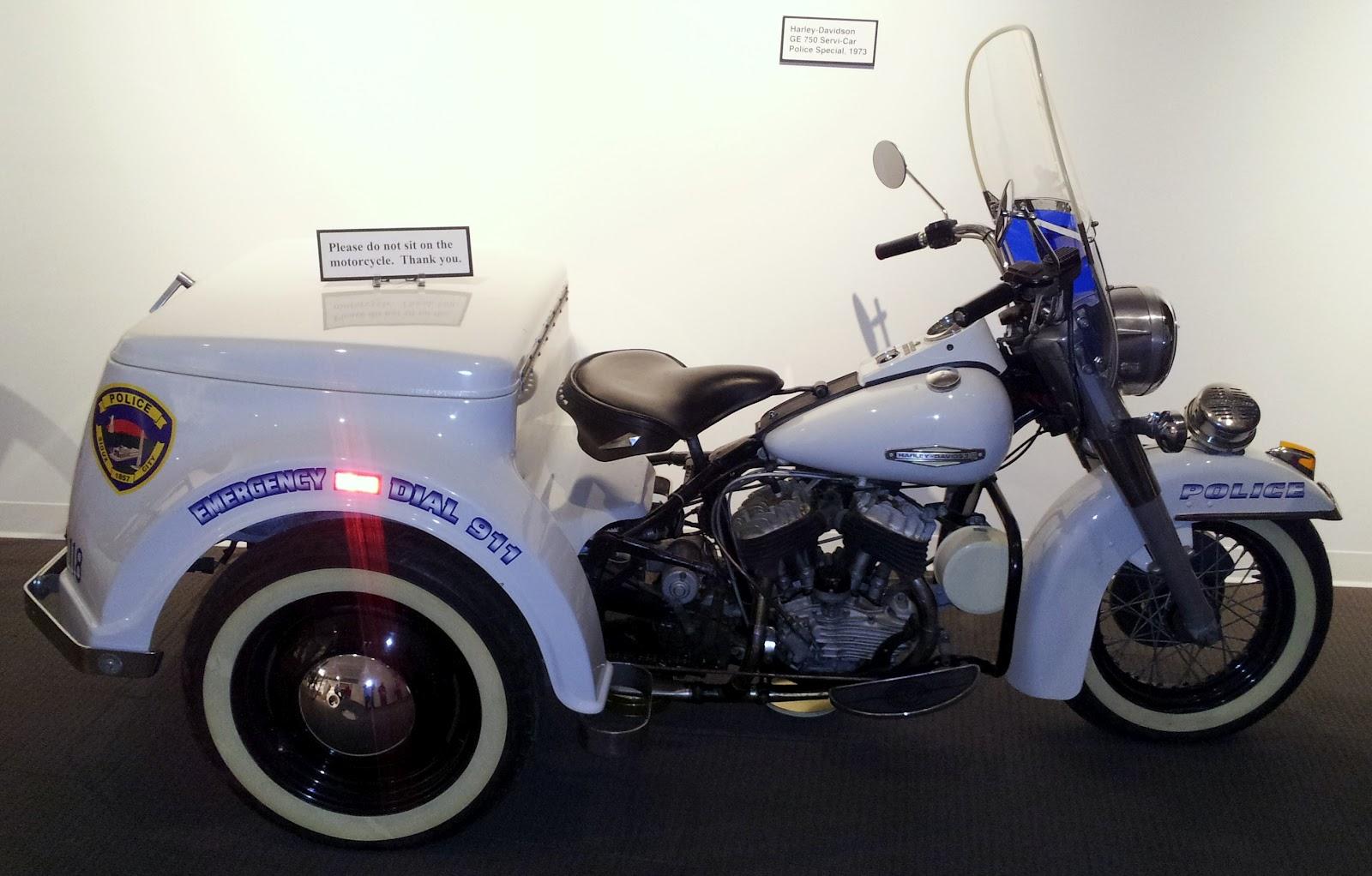 1973 Harley-Davidson Police Special