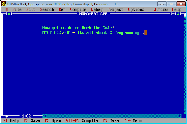 Turbo C++ 45 for Windows 7,8,81 Free Download - easy crack