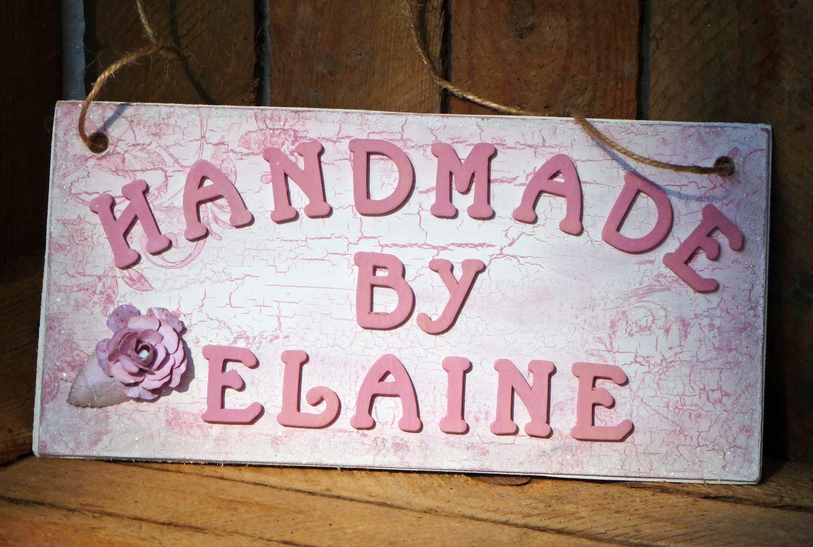 Handmade by Elaine