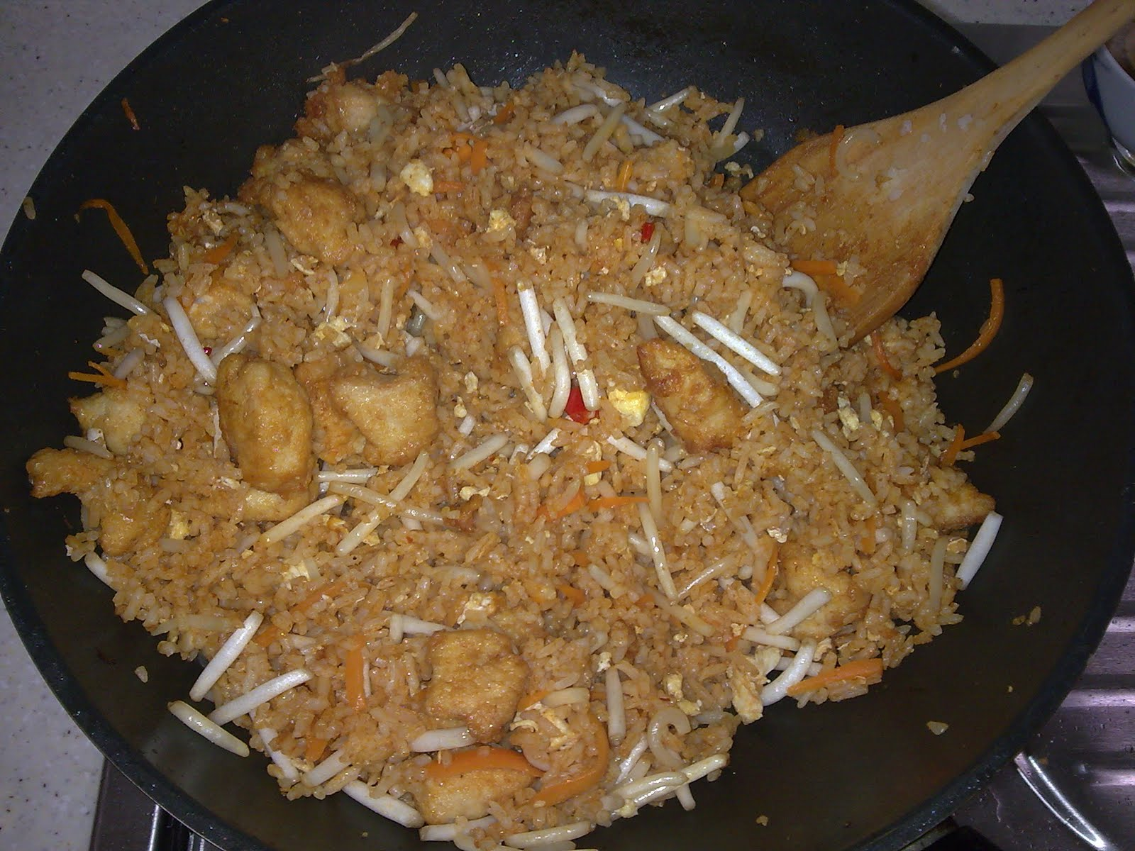 ... yam soup why not opt for something different tom yam fried rice just